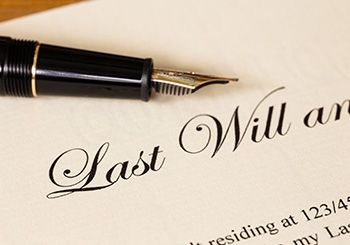 will and testament - Suzanne R. Fanning PLLC